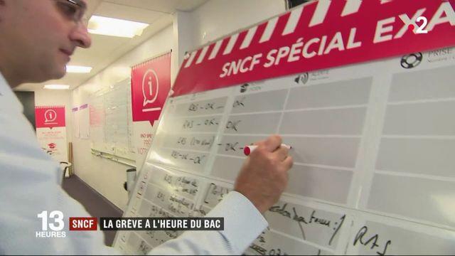 SNCF : la grève à l'heure du bac
