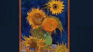 Un des sept tableaux peints par Vincent van Gogh dans son œuvre Les Tounesols. (FRANCE 2)