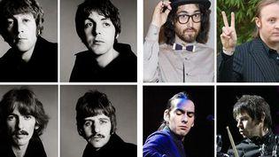 """""""The Beatles -The Next Generation"""". Les """"fils de"""" veulent lancer leur groupe  (SIPA archives)"""