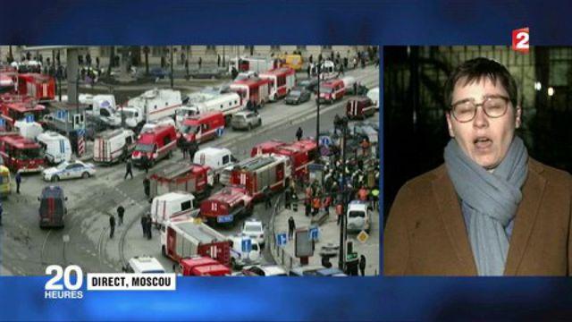 Explosion meutrière dans le métro de Saint-Pétersbourg : une enquête pour acte terroriste ouverte
