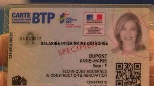 La France compte près de 300 000 travailleurs détachés, dont 27% environ dans le BTP. La France a mis en place toute une série de mesures contre la fraude. (FRANCE 2)