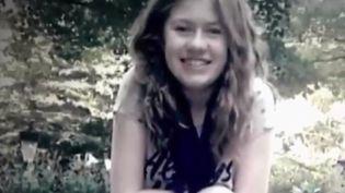 Jayme Closs, une adolescente de 13 ans retrouvée vendredi 11 janvier dans l'État américain du Wisconsin, après avoir réussi à échapper à son ravisseur. (CAPTURE ECRAN FRANCE 2)