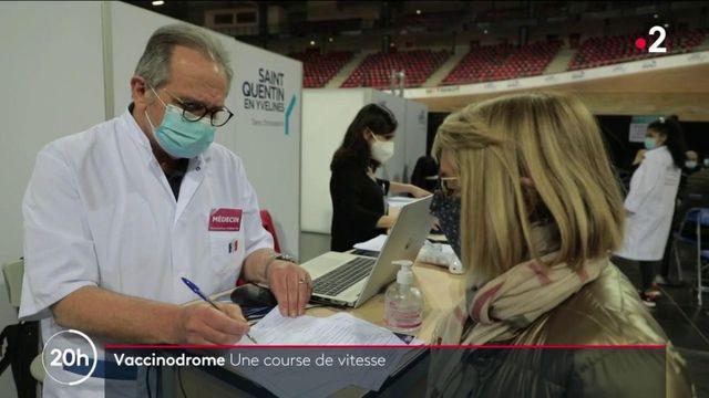 Covid-19 : course de vitesse dans les vaccinodromes