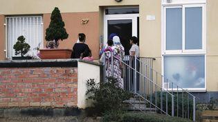 L'appartement de la famille Oukabir, à Ripoll (nord de l'Espagne), le 18 août 2017. (PAU BARRENA / AFP)