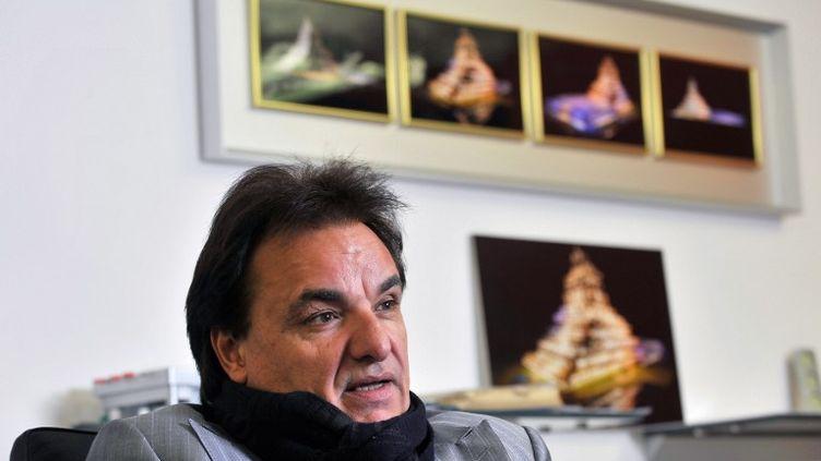 Le président du FC Sion, Christian Constantin (SEBASTIEN FEVAL / AFP)