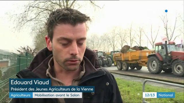 Agriculteurs : mobilisation dans toute la France avant l'ouverture du Salon