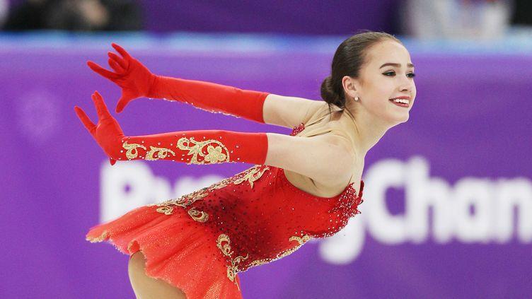 Alina Zagitova médaillée d'or à 15 ans. (POOL FOR YOMIURI / YOMIURI)