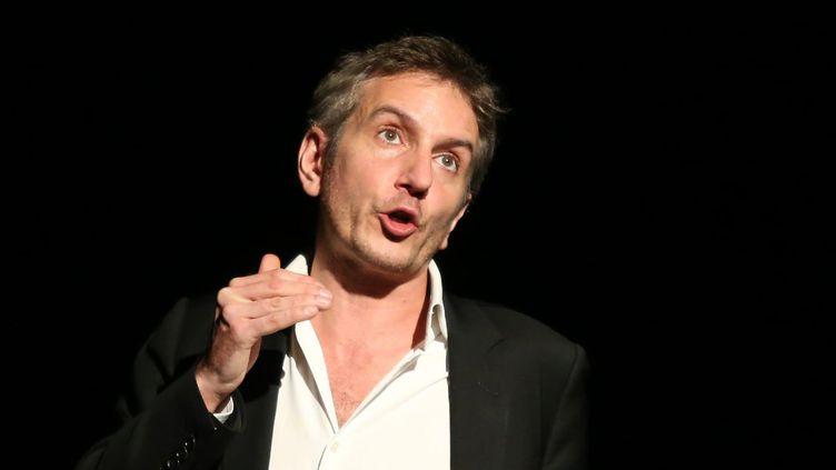 """Le comédien Olivier Sauton dans """"Fabrice Luchini et moi"""".  (Photo PQR/Est Eclair / MaxPPP)"""