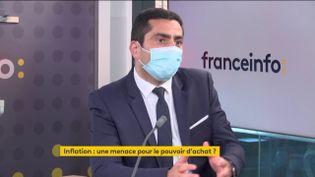 Marc Touati,fondateur du cabinet ACDEFI, invité éco de franceinfo mardi 23 février 2021. (FRANCEINFO)