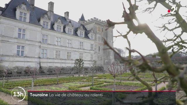 Touraine : les châteaux endormis se préparent au retour des visiteurs