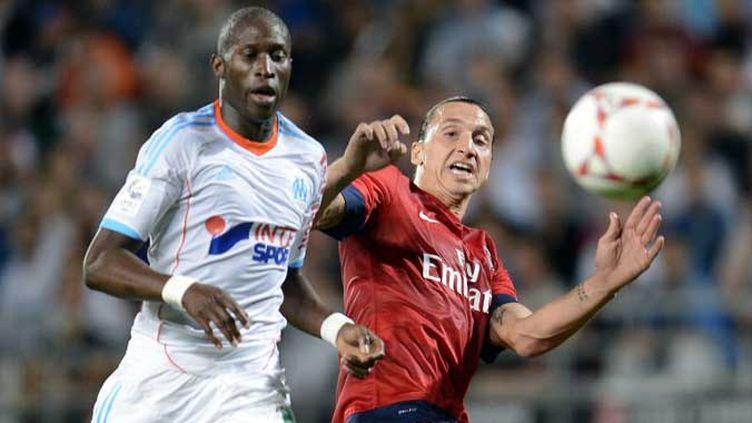 Le Marseillais Fanni et le Parisien Ibrahimovic au coude à coude