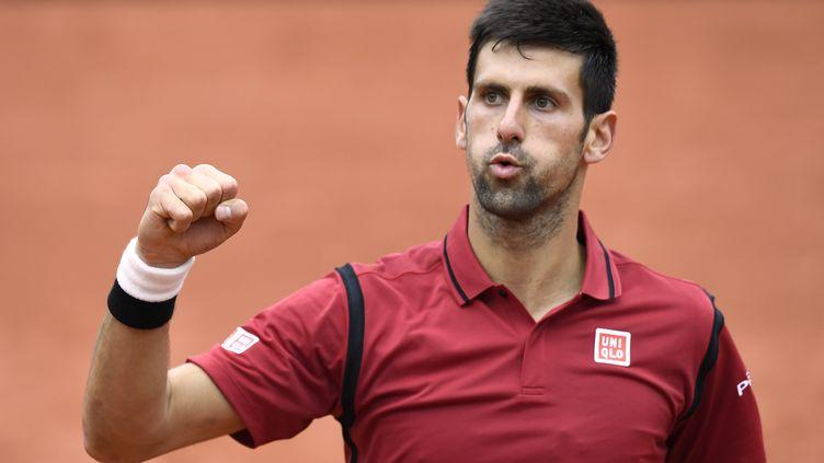Le joueur serbe Novak Djokovic (MIGUEL MEDINA / AFP)