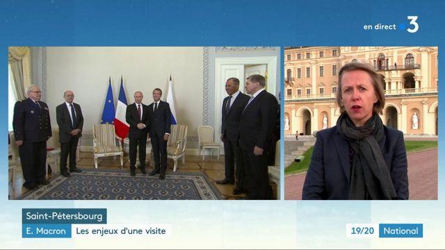 Emmanuel Macron : les enjeux de la visite officielle en Russie