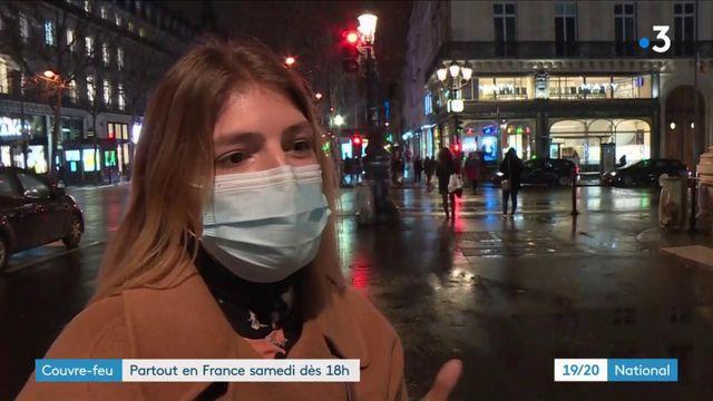 Couvre-feu avancé à 18 heures : réactions des Français à Paris et à Lyon