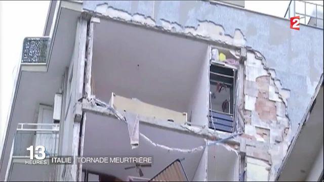 Italie : une tornade s'abat sur Rome