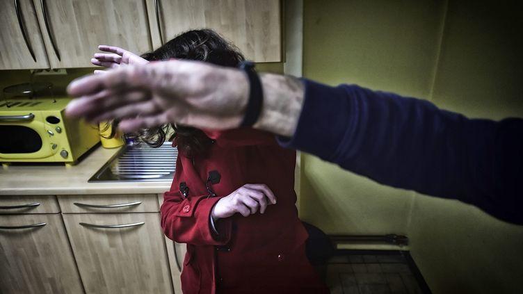 Bernadette Dimet a tué son mari de deux coups de fusil après 39 ans de violences conjugales. (DIDIER CRASNAULT / MAXPPP)