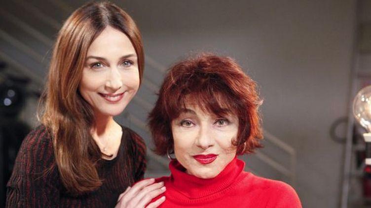 Elsa Zylberstein et Josiane Stoléru  (France Télévisions)