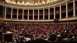 L'Assemblée nationale, à Paris, le 26 janvier 2016. (THOMAS SAMSON / AFP)