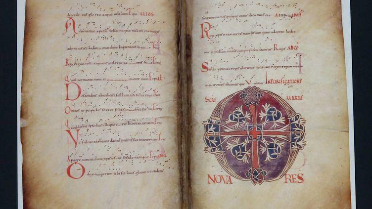 Le musée des Beaux-Arts de Limoges accueille des chefs d'œuvre romans de l'ancienne abbaye Saint-Martial pour une exposition exceptionnelle (CAPTURE D'ÉCRAN FRANCE 3)