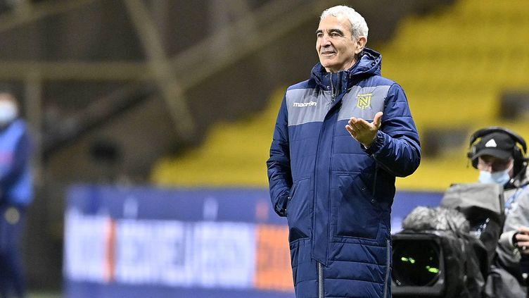 Raymond Domenech n'est plus l'entraîneur du FC Nantes. (JEROME FOUQUET / MAXPPP)