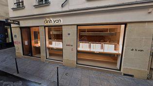 La bijouterie Dinh Van, rue Vieille-du-Temple à Paris,en août 2020. (GOOGLEMAPS)