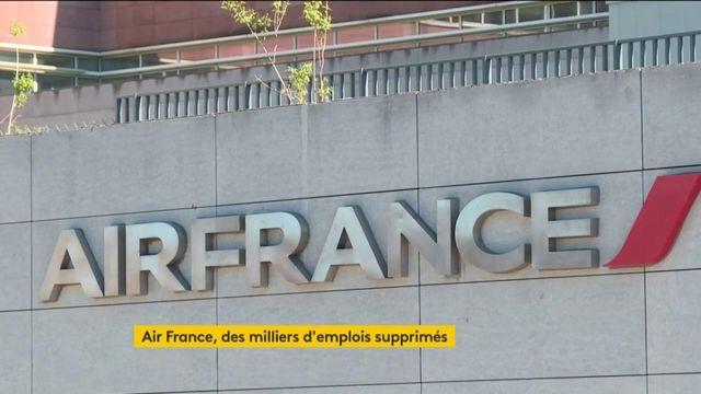 Air France va supprimer 7580 postes à l'horizon 2022