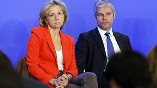 Valérie Pécresse et Laurent Wauquiez le 23 mars 2013 lors d'un séminaire de l'UMP. (PIERRE VERDY / AFP)