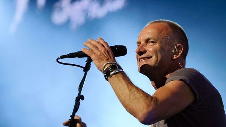 Sting à Montreux en juillet 2013.  (Fabrice Coffrini / AFP)