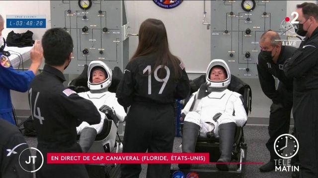 ISS : derniers préparatifs pour les astronautes de la mission Alpha