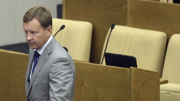 L'ex-député de la chambre basse du Parlement russe Denis Voronenkov à Moscou, le 15 septembre 2015. (REUTERS)