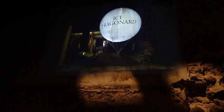 Visite du chantier du futur musée du parfum Fragonard, à Paris, février 2015  (Corinne Jeammet)