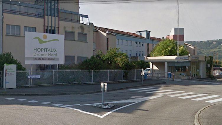 Photo : capture d'écran Google Maps - Les urgences du centre hospitalier de Saint-Vallier dans la Drôme seront fermées de jour comme de nuit du 6 au 27 août (Capture d'écran Google Maps)