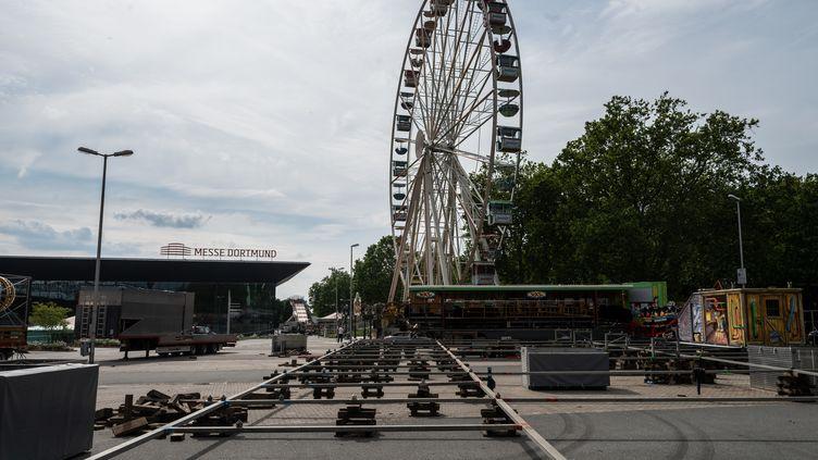 Unparc d'attraction à Dortmund (Allemagne) le 15 juin 2020. (BERND THISSEN / DPA / AFP)