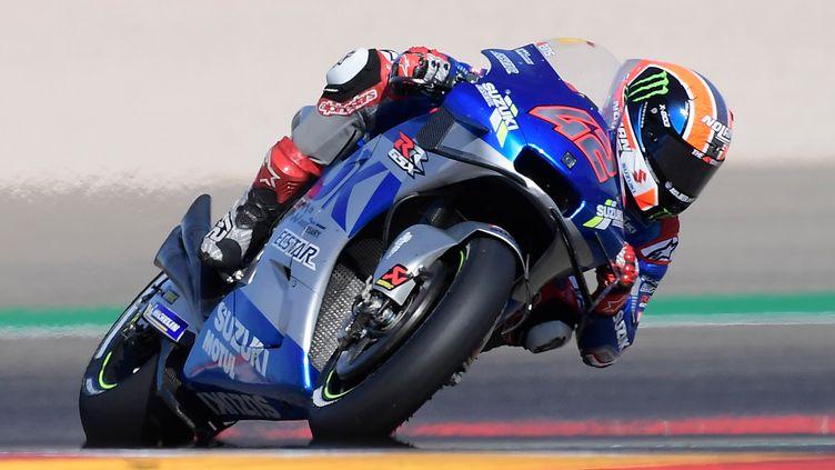 Alex Rins remporte son premier Grand Prix en MotoGP (JOSE JORDAN / AFP)