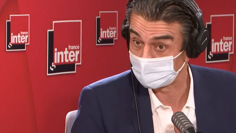 Pascal Blanchard, en février 2021. (FRANCE INTER / RADIO FRANCE)