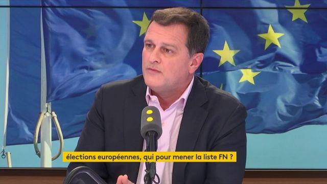 """Européennes : """"La tête de liste pourrait être confiée à une personnalité extérieure au Front national"""" affirme Louis Aliot"""