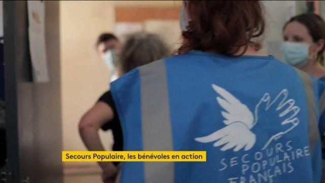 Coronavirus : les bénévoles du Secours populaire en action