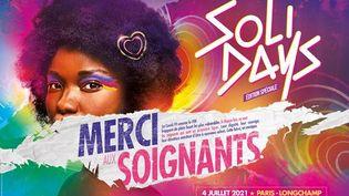 Le festival Solidays aura finalement bien lieu cette année, le 4 juillet à l'hippodrome de Longchamp, à Paris, (FESTIVAL SOLIDAYS)