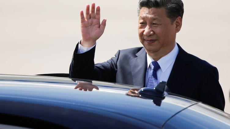 Le président chinois Xi Jinping, au sommet du G20, à Hambourg(Allemagne), le 6 juillet 2017. (AXEL SCHMIDT / REUTERS)