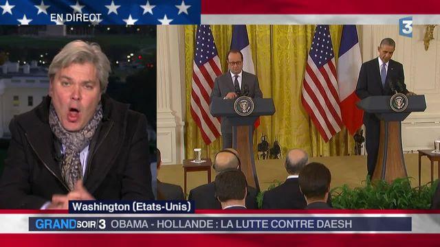 Guerre en Syrie contre Daech : Obama soutient Hollande