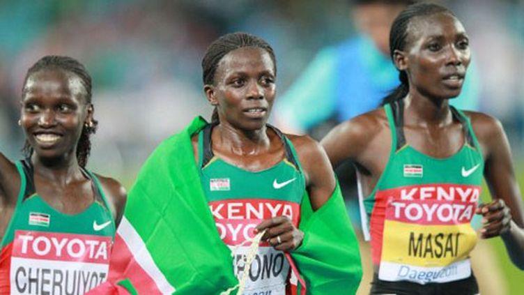 Triplé kényan sur le 10 000m féminin