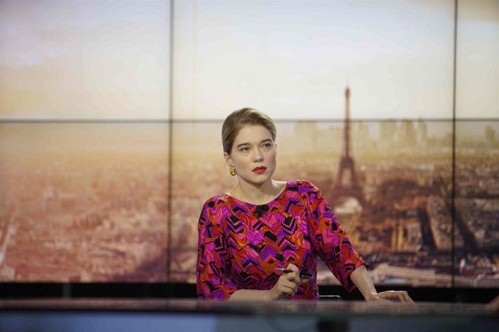 """Léa Seydoux dans """"France"""" de Bruno Dumont (2021). (ROGER ARPAJOU / 3B)"""