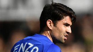 Enzo Zidanesigne à Rodez ! (FABRICE COFFRINI / AFP)
