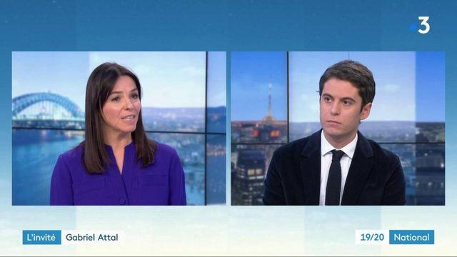 Royaume-Uni: Gabriel Attal appelle les ressortisants français à se faire tester au plus vite