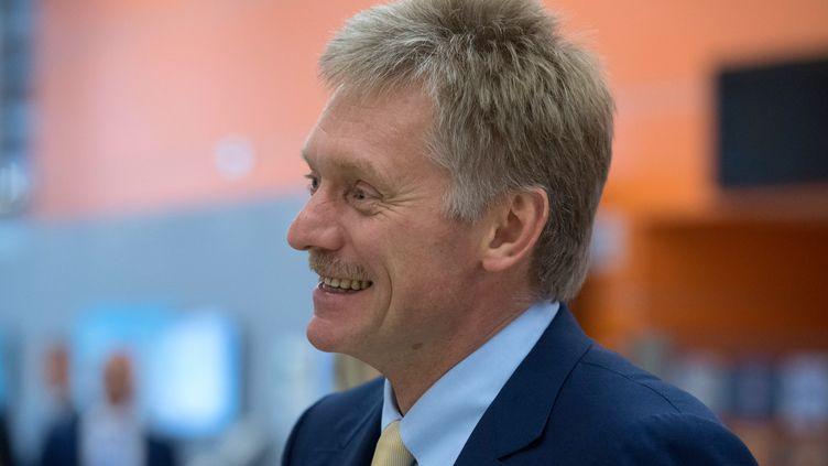 Le porte-parole du Kremlin Dmitri Peskov à Moscou le 21 juillet 2016.  (SERGEY GUNEEV / SPUTNIK)
