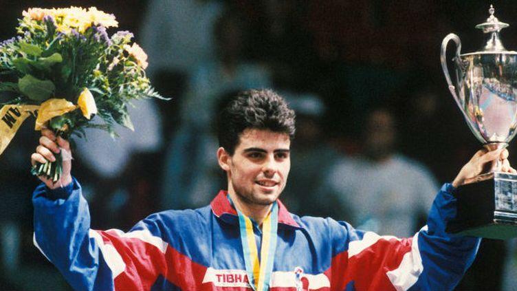 Jean-Philippe Gatien, champion du Monde 1993