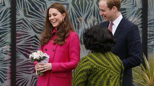 La duchesse de Cambridge, Kate, et son mari, le prince William, à Londres, le 27 mars 2015. (STEFAN WERMUTH / REUTERS )