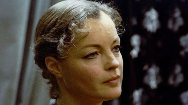 "Romy Schneider en 1979 dans ""Clair de femme"" de Costa Gavras  (Nana Productions / SIPA)"