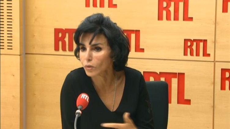 Rachida Dati, lundi 1er décembre 2014, sur RTL. (RTL)
