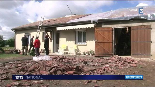 Une tornade a frappé la commune de Valdivienne